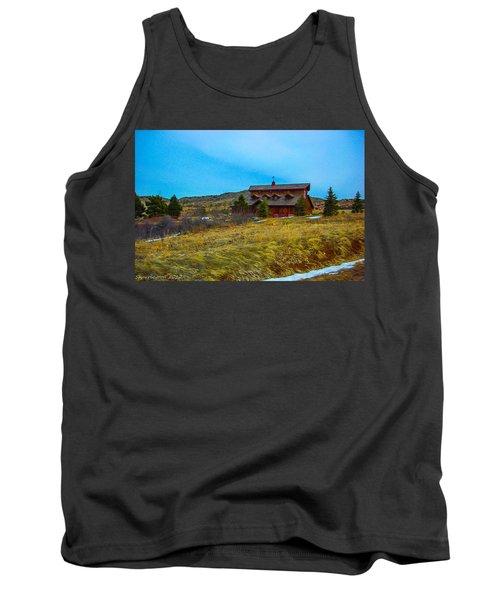 Tank Top featuring the photograph Co. Farm by Shannon Harrington