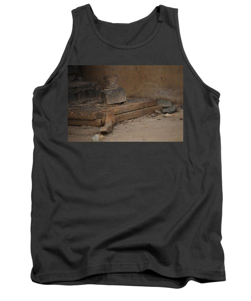 Tank Top featuring the photograph Color Of Steel 1 by Fran Riley