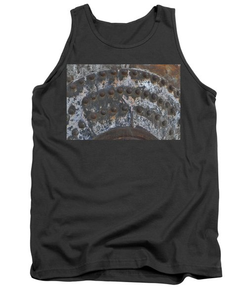 Tank Top featuring the photograph Color Of Steel 7a by Fran Riley