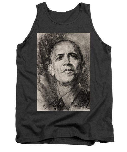 Commander-in-chief Tank Top by Ylli Haruni