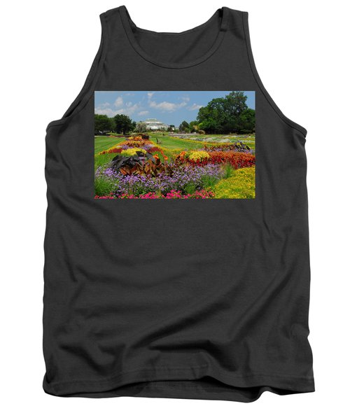 Conservatory Gardens Tank Top by Lynn Bauer