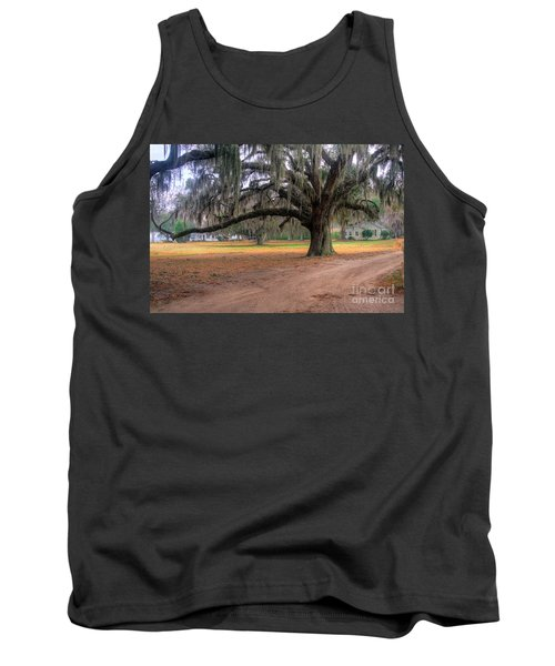 Coosaw Plantation Live Oak Tank Top