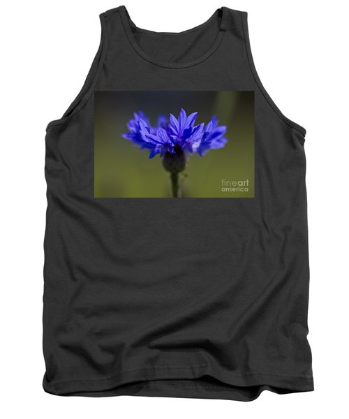 Cornflower Blue Tank Top