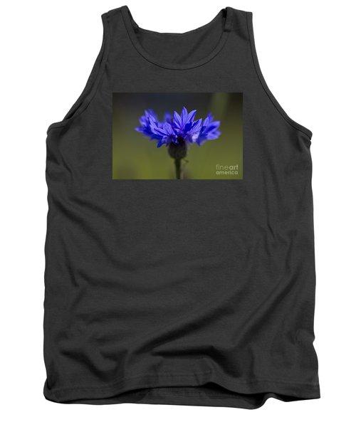 Cornflower Blue Tank Top