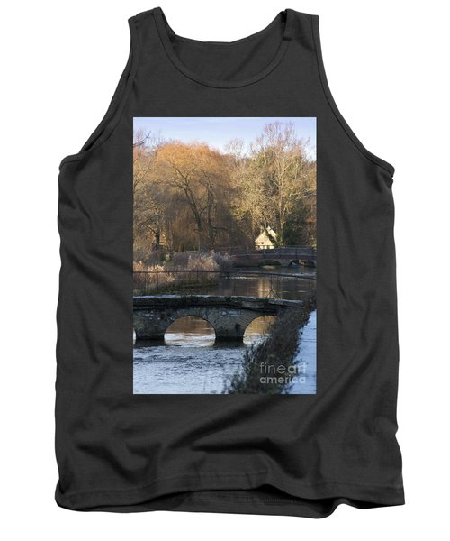 Cotswold River Scene Tank Top