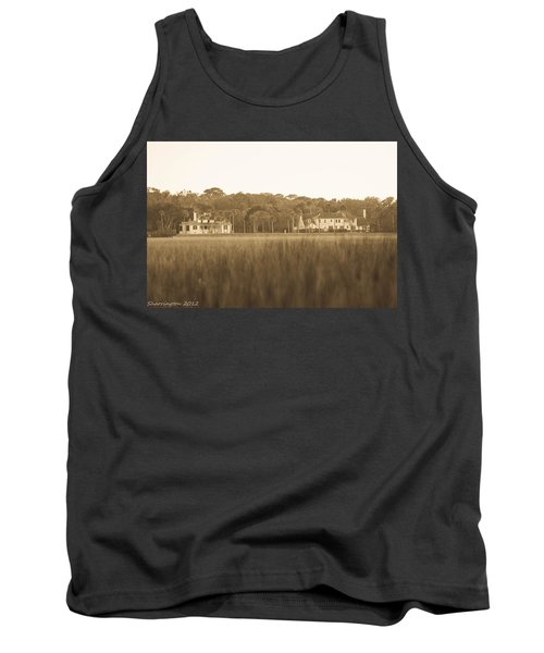 Tank Top featuring the photograph Country Estate by Shannon Harrington