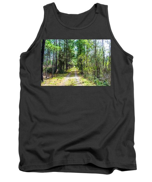 Tank Top featuring the photograph Country Path by Shannon Harrington