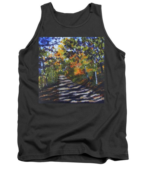 Country Road Tank Top by Jan Bennicoff