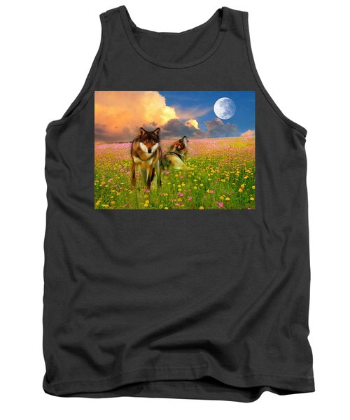 Cry At The Moon Tank Top