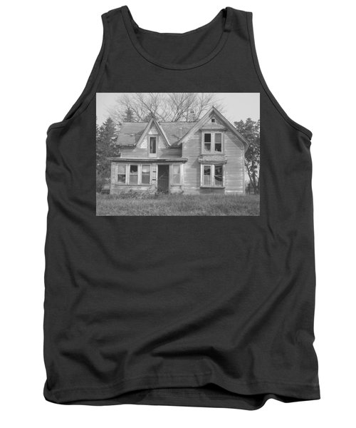 Tank Top featuring the photograph Defiance B/w by Bonfire Photography