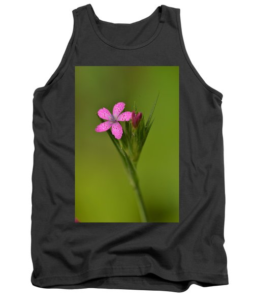 Tank Top featuring the photograph Deptford Pink by JD Grimes