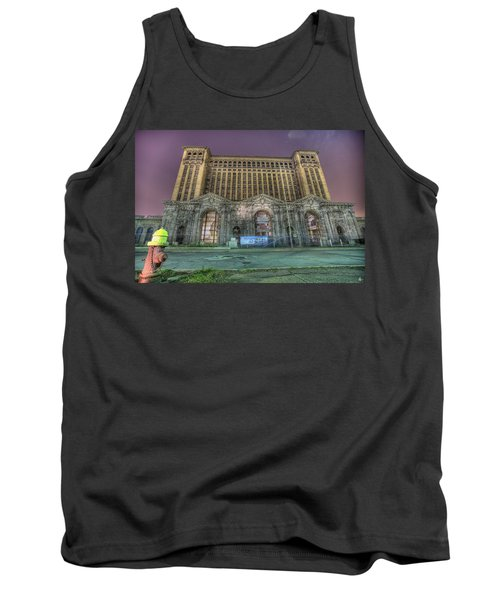 Detroit's Michigan Central Station - Michigan Central Depot Tank Top