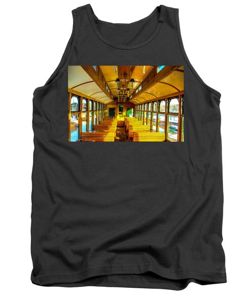 Tank Top featuring the photograph Dining Car by Shannon Harrington