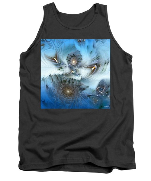 Tank Top featuring the digital art Dream Journey by Casey Kotas