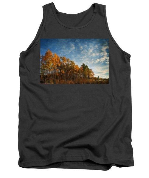 Dressed In Autumn Colors Tank Top
