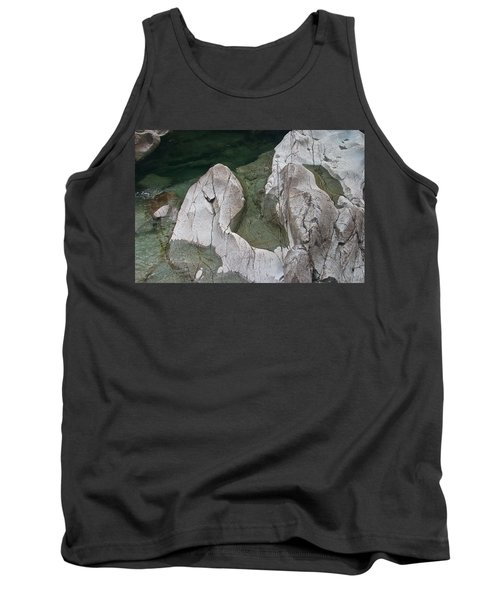 Etched Rock Water 5 Tank Top
