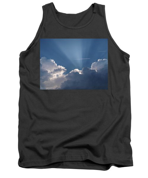Even Through The Clouds You Will Find A Ray Of Sunshine Tank Top