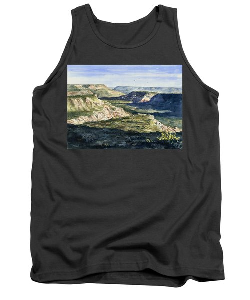 Evening Flight Over Palo Duro Canyon Tank Top