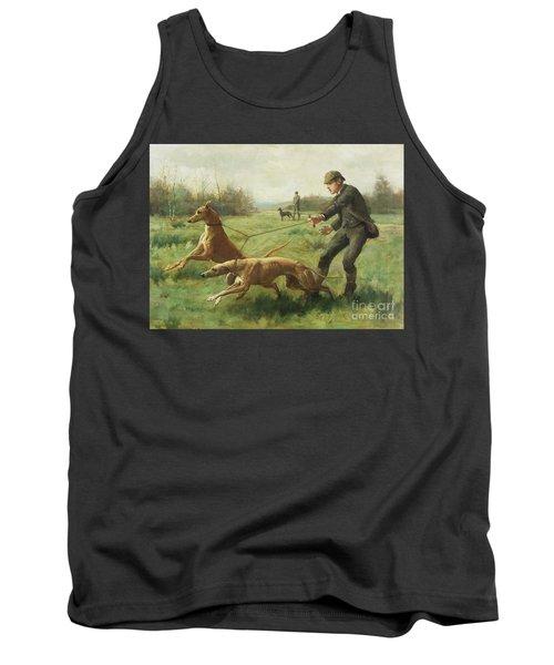Exercising Greyhounds Tank Top