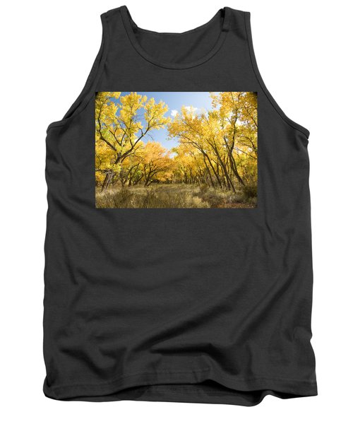 Fall Leaves In New Mexico Tank Top