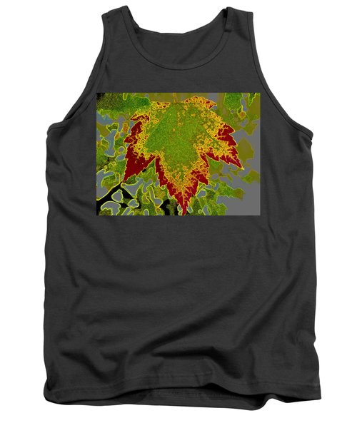 Tank Top featuring the photograph Falling by Kathy Bassett