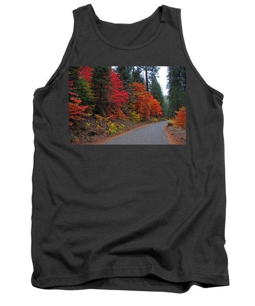 Tank Top featuring the photograph Fall's Splendor by Lynn Bauer