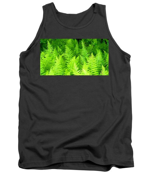 Ferns Galore Filtered Tank Top
