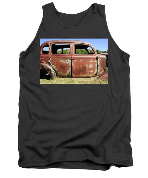 Tank Top featuring the photograph Final Destination by Fran Riley