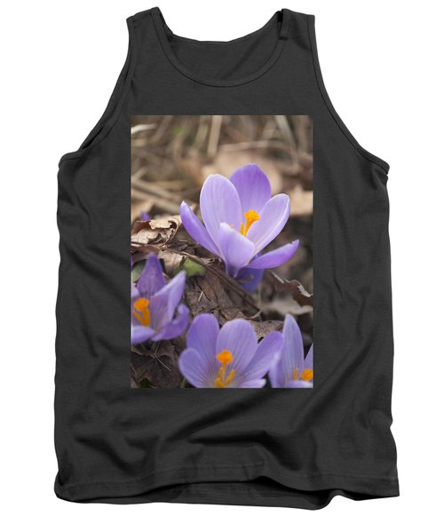 First Crocus Blooms Tank Top