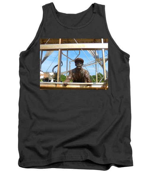 Tank Top featuring the sculpture First In Flight  by Lydia Holly