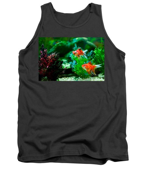 Tank Top featuring the photograph Fish Tank by Matt Malloy