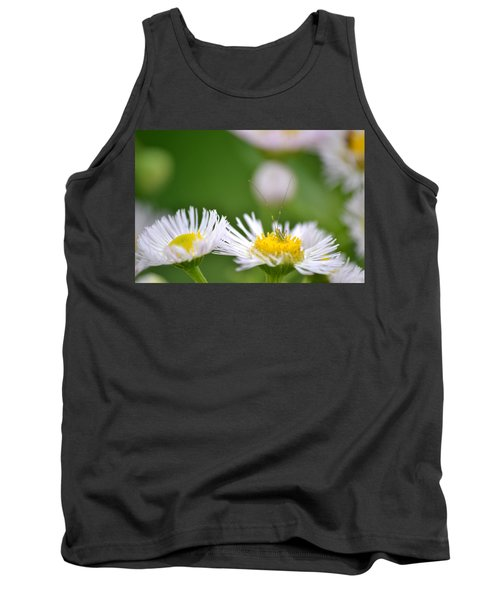 Tank Top featuring the photograph Floral Launch-pad by JD Grimes