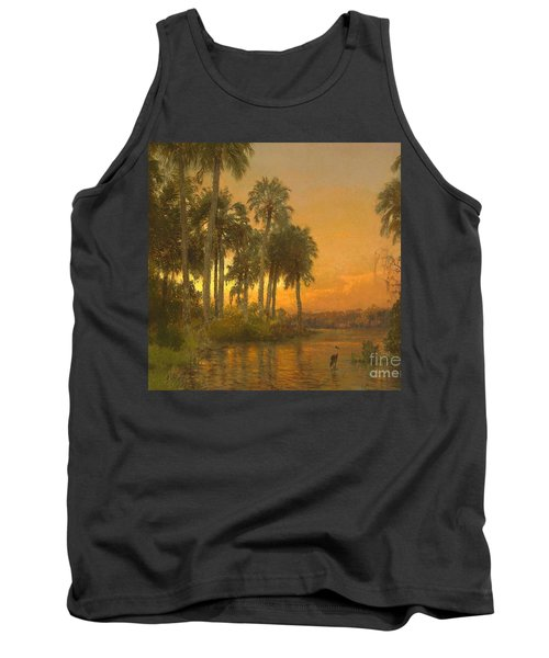 Florida Sunset Tank Top by Pg Reproductions