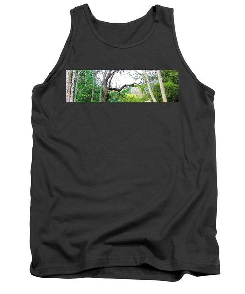 Tank Top featuring the photograph Flying Branch by Pamela Hyde Wilson