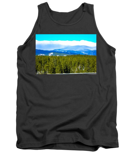 Tank Top featuring the photograph Fog In The Rockies by Shannon Harrington