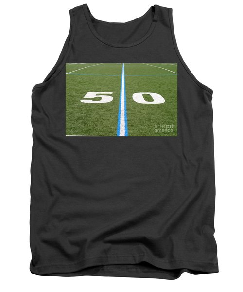 Football Field Fifty Tank Top