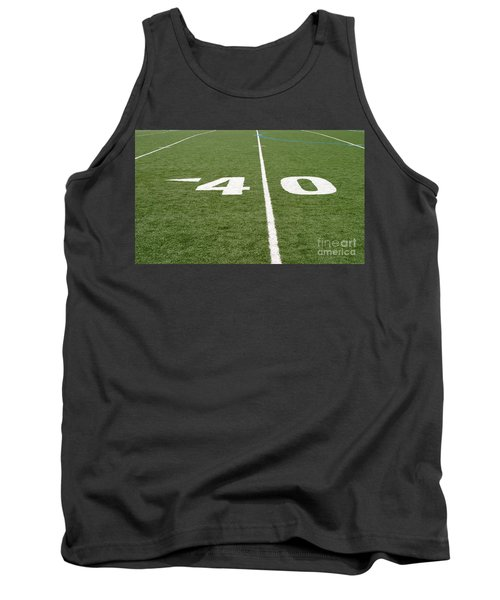 Tank Top featuring the photograph Football Field Forty by Henrik Lehnerer