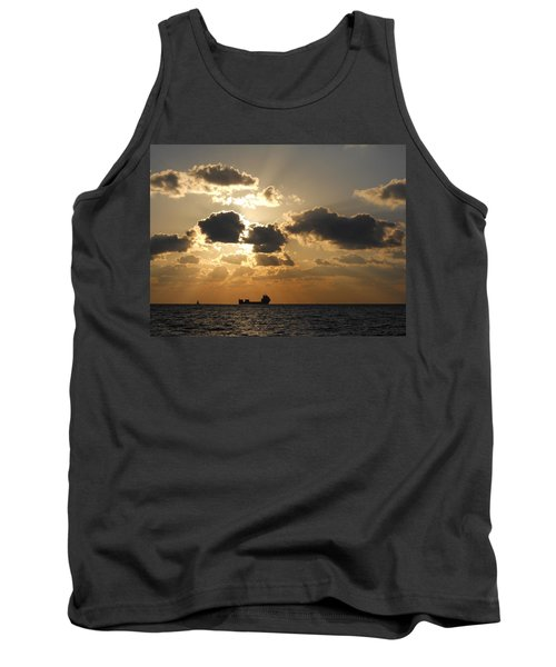 Tank Top featuring the photograph Fort Lauderdale Sunrise by Clara Sue Beym