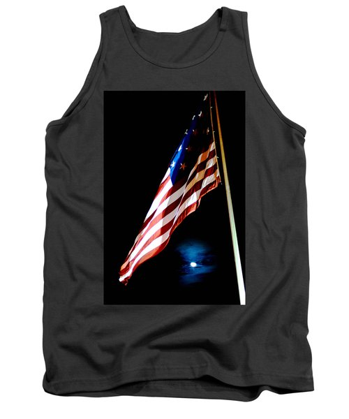 Flag On Federal Hill Tank Top