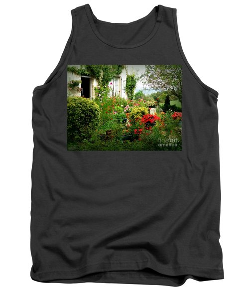 French Cottage Garden Tank Top