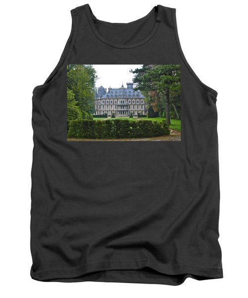French Country Mansion Tank Top