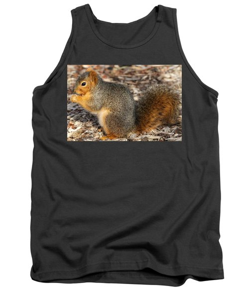 Tank Top featuring the photograph Fruity Squirel by Elizabeth Winter