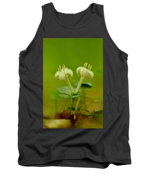 Tank Top featuring the photograph Fuzzy Blooms by JD Grimes
