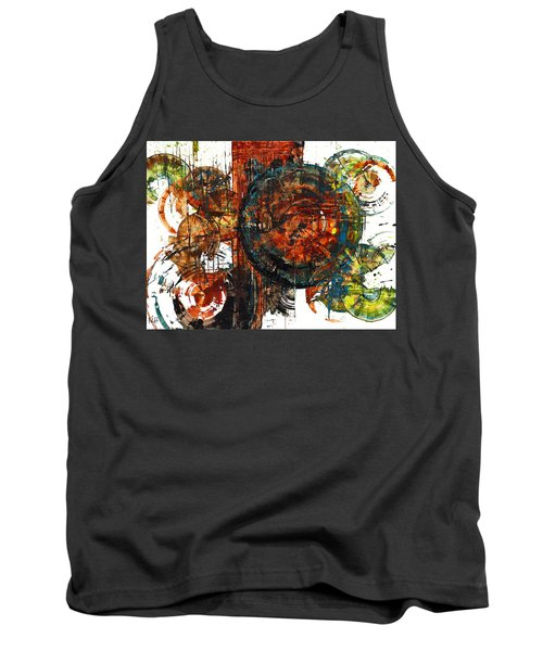 Tank Top featuring the painting Gaurdian  02.101511 by Kris Haas
