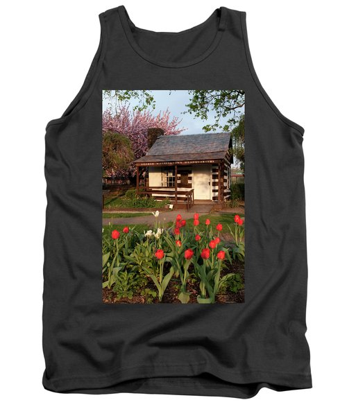 George Washington's House Tank Top by Jeannette Hunt
