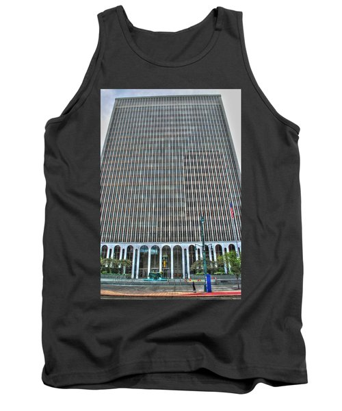 Tank Top featuring the photograph Giant Bank Of M And T by Michael Frank Jr