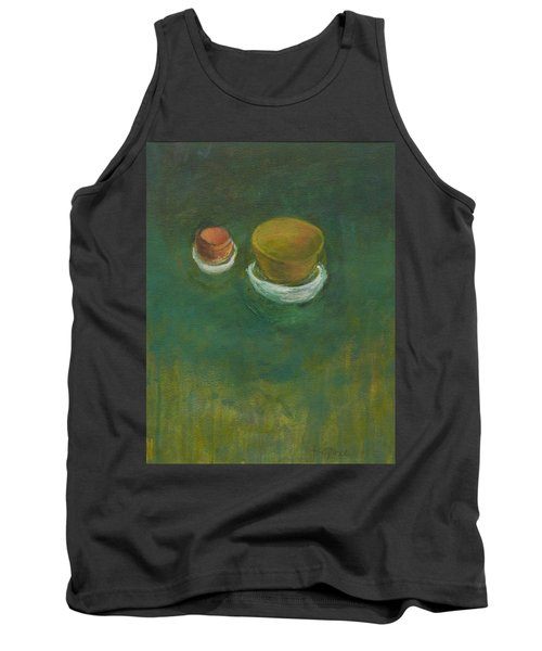 Tank Top featuring the painting Ginger Pot by Kathleen Grace