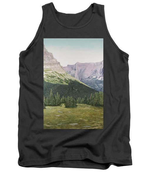 Glacier National Park Montana Tank Top