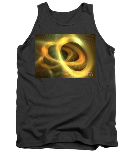 Golden Rings Tank Top by Kim Sy Ok