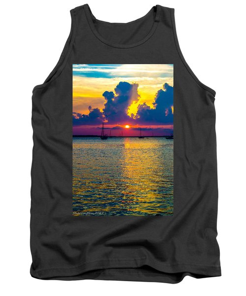 Golden Waters Tank Top